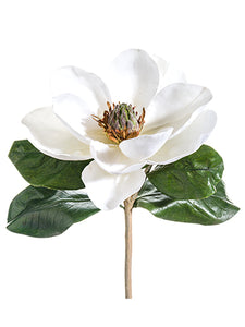 "14"" Magnolia Pick  White (pack of 6)"