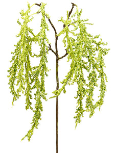 "42"" Amaranthus Hanging Spray  Green (pack of 12)"
