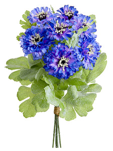 "10"" Cornflower Bundle x6  Purple Lavender (pack of 12)"