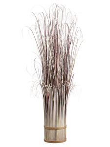 "50"" Grass Standing Bundle  Mauve Gray (pack of 1)"