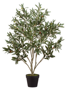 "37.5"" Olive Tree in Pot  Green (pack of 4)"