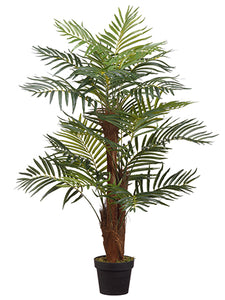 "46"" Areca Palm With 22 Leaves in Pot Green (pack of 2)"