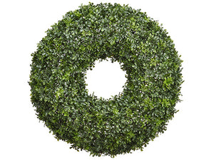 "29"" Boxwood Wreath  Green (pack of 1)"