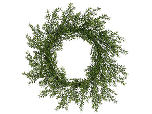 "30"" Boxwood Wreath  Two Ton Green (pack of 2)"