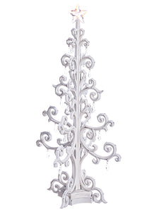"22"" Tree w/Light (battery Operated) White (pack of 1)"
