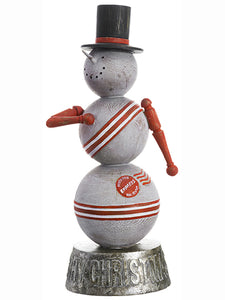 "15.5"" Snowman  Cream Red (pack of 1)"