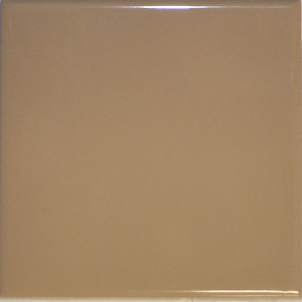 1A1 MARAZZI Ceramic Tile 100mm x 100mm Gloss Italian Light Brown Wall - Aussie Supply Company