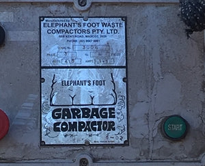 ELEPHANT'S FOOT Garbage Compactor - Aussie Supply Company