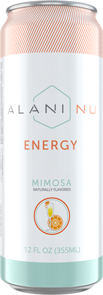 Energy drinks mimosa front