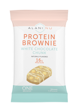 Protein brownie single package front