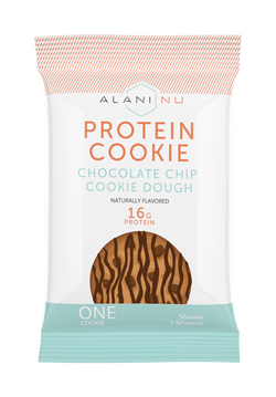 Protein cookie single package front