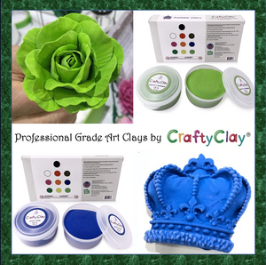 BLACK Air Dry Art Clay - CraftyClay