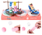 Pigs' Perfect Holiday | 12 Color Premium Quality Air Dry Modeling Clay Kit for Kids | Improves Spatial Thinking Capacity | Odorless & Non-Sticky