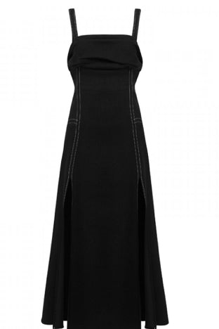 Camilla and Marc Anika Eyelet Dress in Black