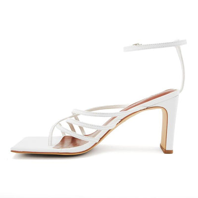 Nakedvice Ayla Heel in White