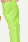 Manning Cartell Game Changer Skirt in Acid Green
