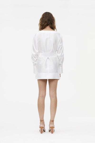Manning Cartell Pumped Up Mini Dress in White