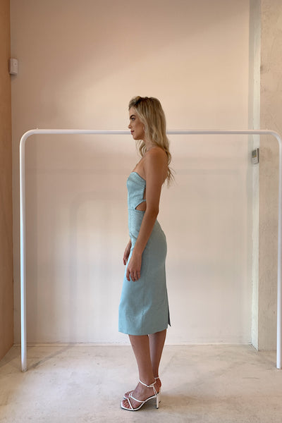Manning Cartell Beams & Darts Dress in Mint