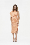 Manning Cartell Hi-Exposure Asymmetric Dress in Melon