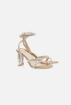 Manning Cartell Diamonds in the Sky Heel in Beige/Crystal