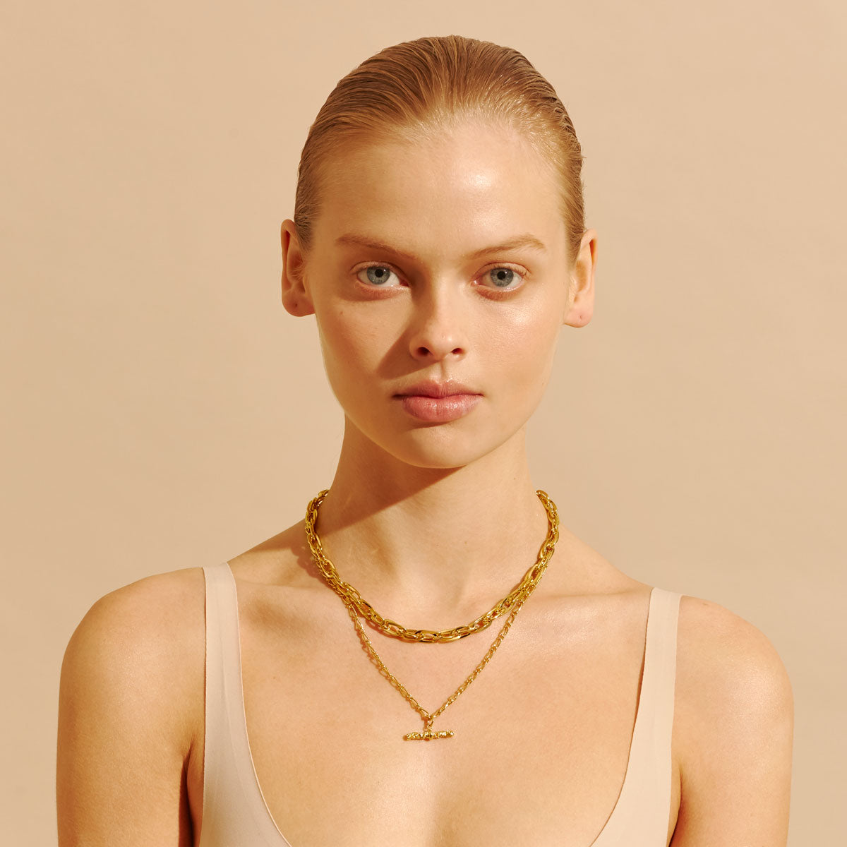 Amber Sceats Kendra Necklace in Gold