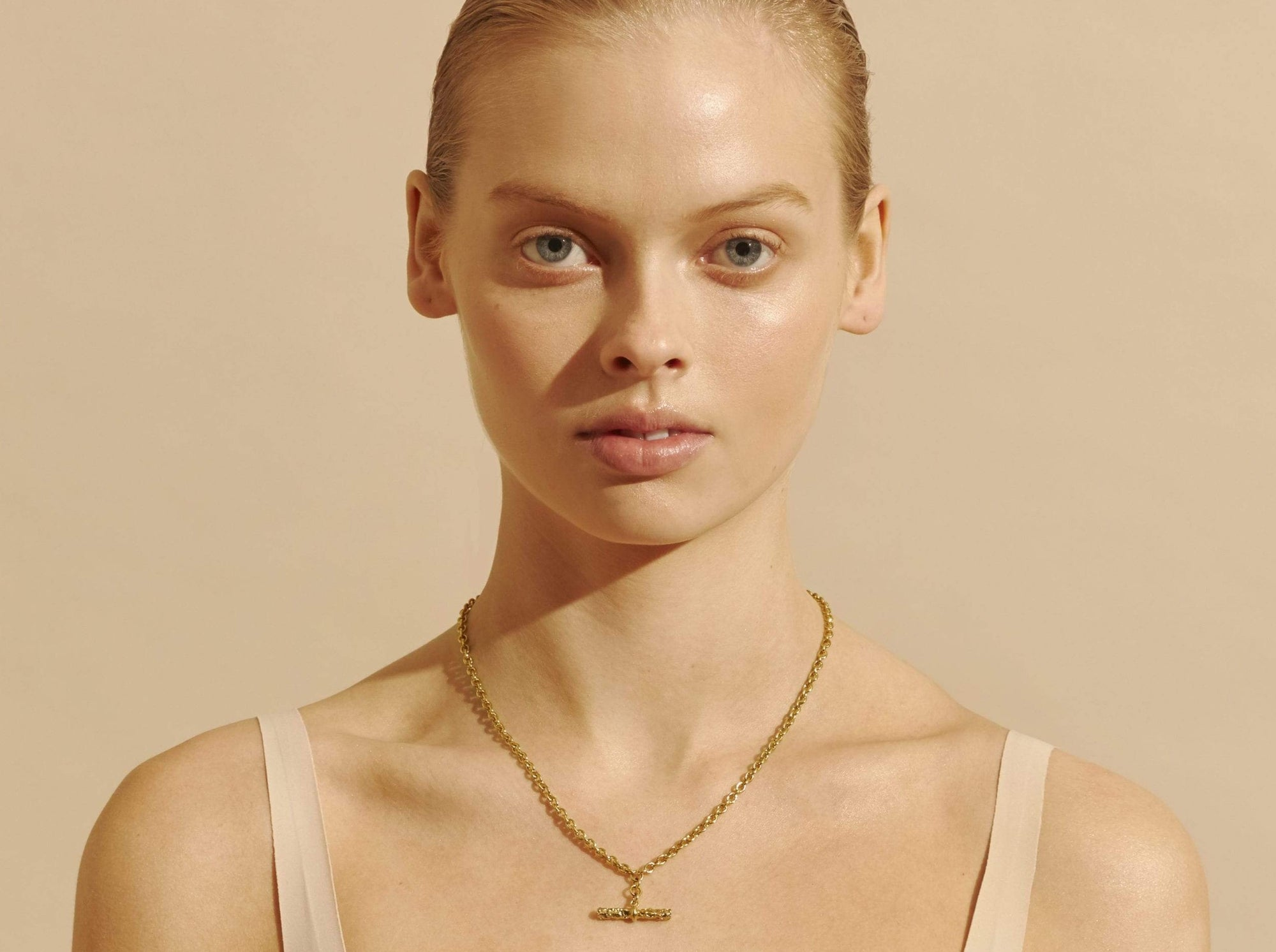 Amber Sceats Ornos Necklace in Gold