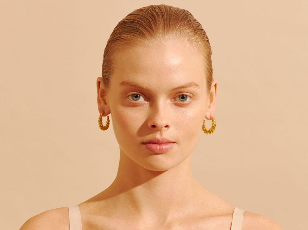 Amber Sceats Marnie Earrings in Gold
