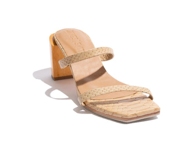 James Smith Sinenuse Strap Sandal in Crema