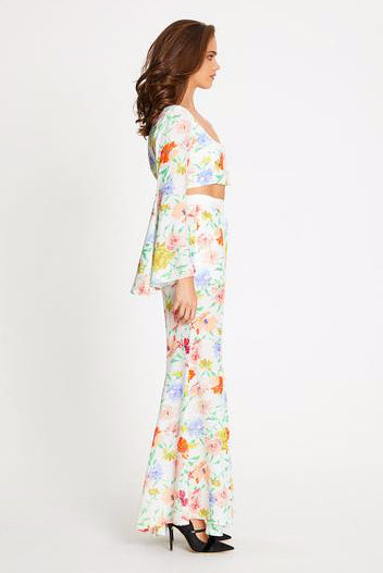 Alice McCall Picasso Pant in Porelain Floral
