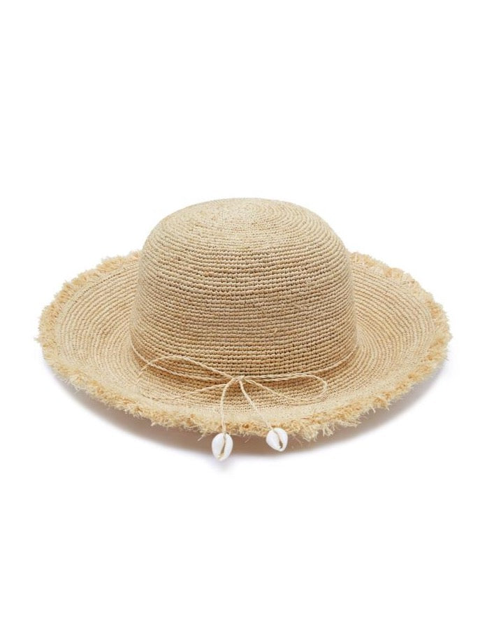 Avenue Angelina Sunhat in Natural