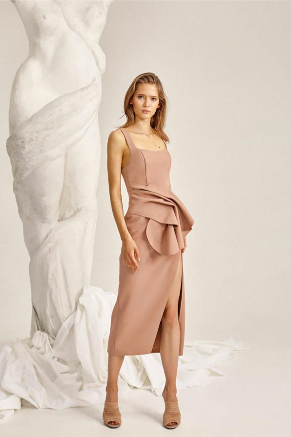 Acler Habana Dress in Clay