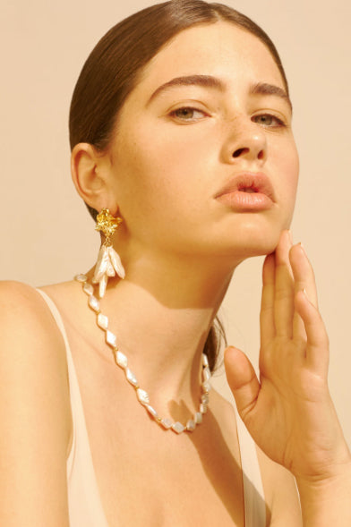 Amber Sceats Chelsea Earrings in Gold