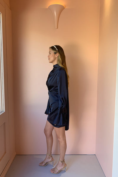 Acler Soto Dress in Midnight