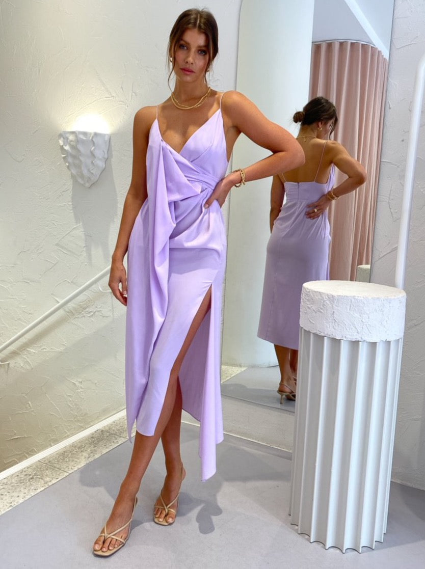 Acler Hermatige Dress in Lilac