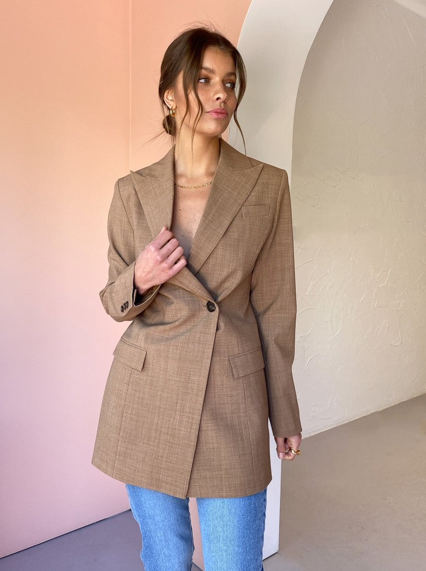 Anna Quan Sienna Jacket in Cinnamon