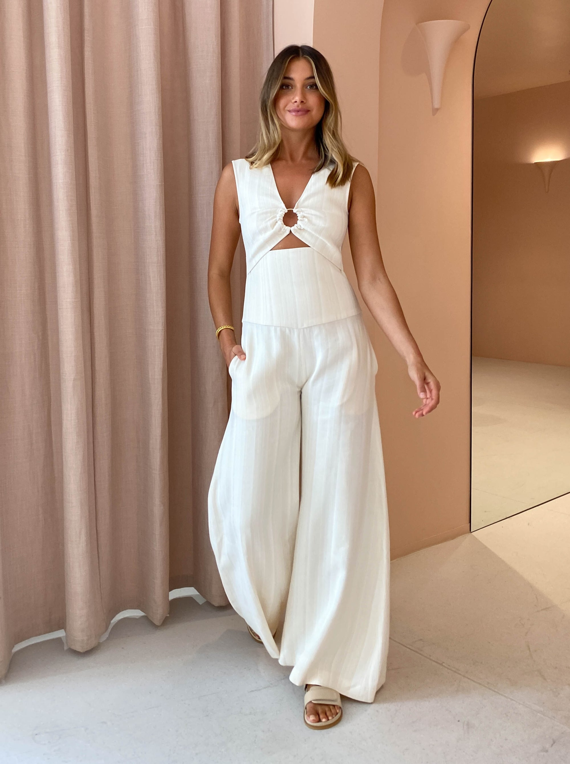 Anna Quan Mariana Jumpsuit in Holiday