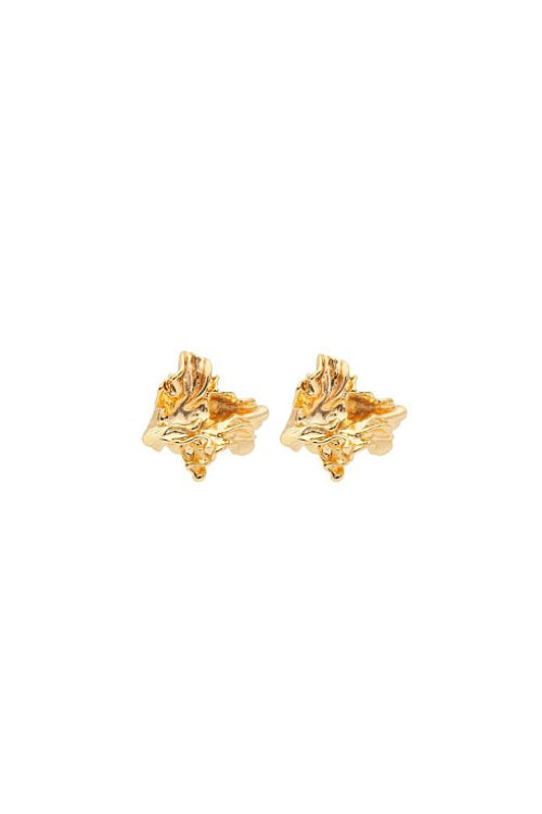 Amber Sceats Petite Reese Earrings in Gold
