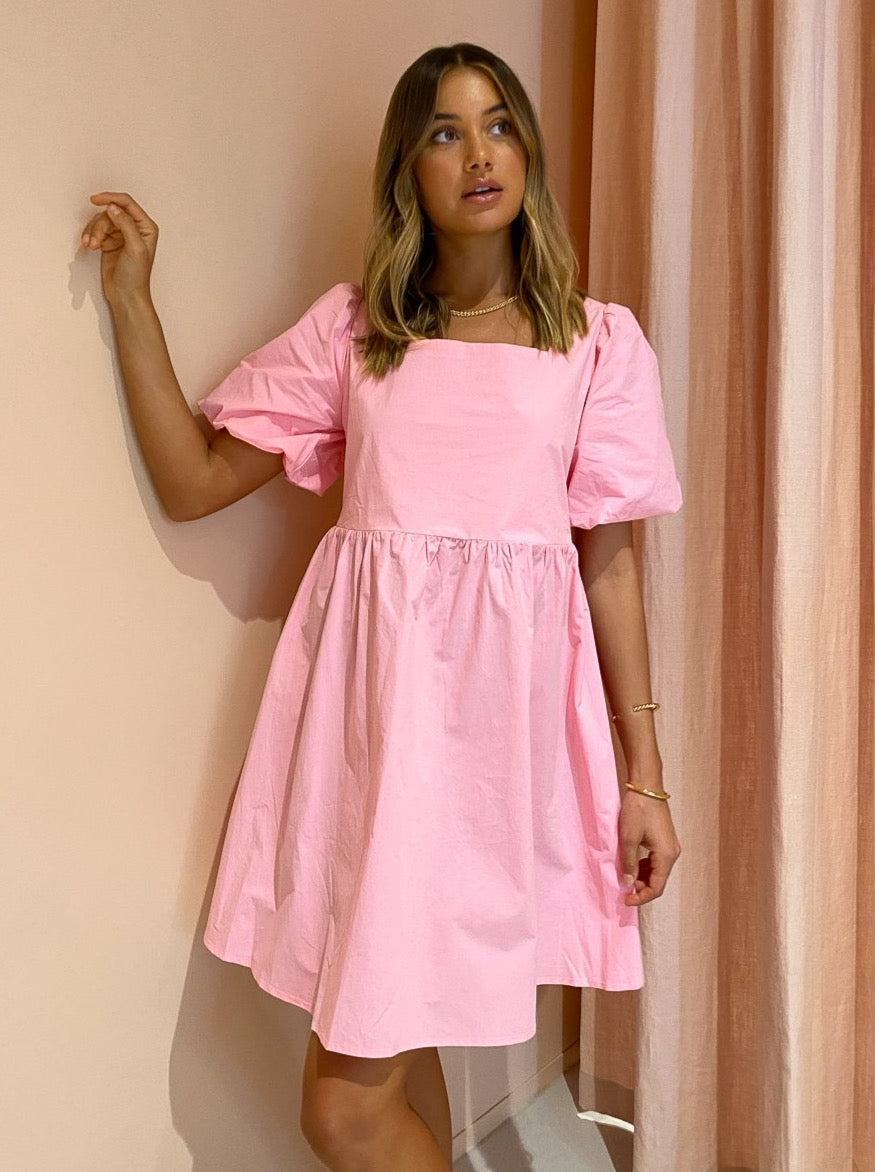Blanca Fiona Mini Dress in Pink