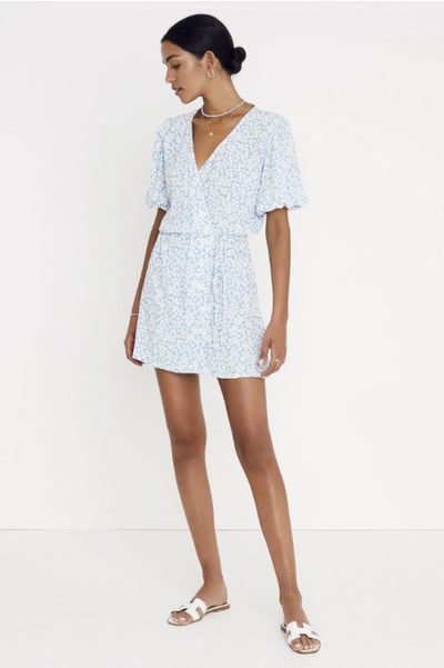 Faithfull the Brand Blanco Dress in Bella Floral Print