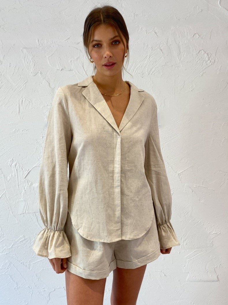 By Nicola Jupiter Shirt in Natural