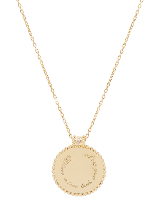 By Charlotte Believe in Luck Necklace in Gold