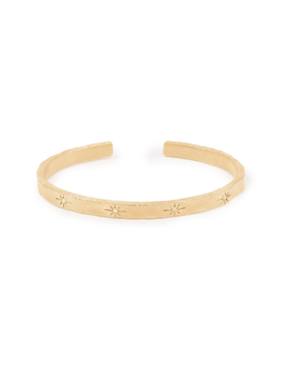 By Charlotte Stardust Cuff in Gold