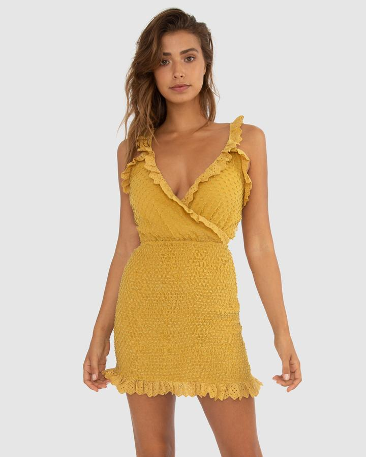Carver Abella Dress in Lemon