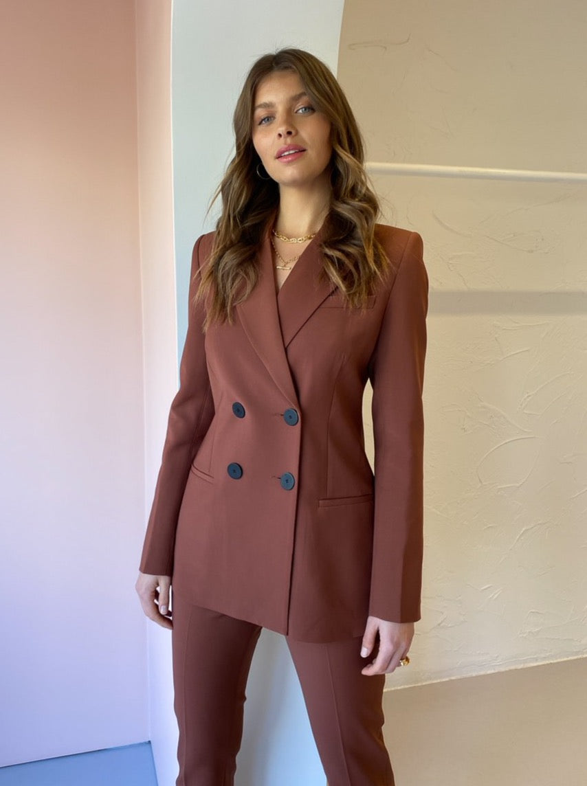 Camilla and Marc Bailey Blazer in Cinnamon