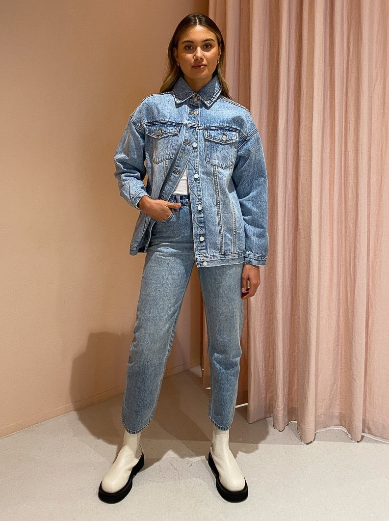 Camilla and Marc Isla Jacket in Light 90s Wash