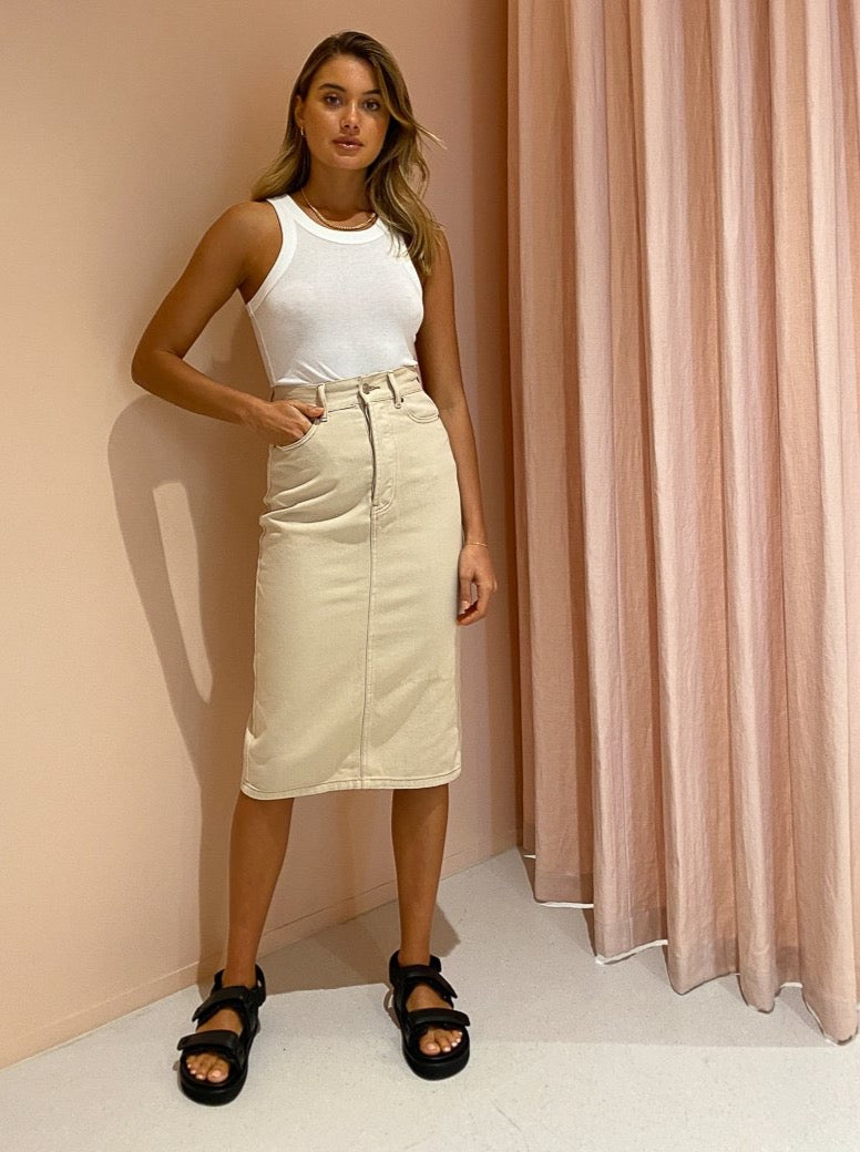 Camilla and Marc Penelope Skirt in Natural