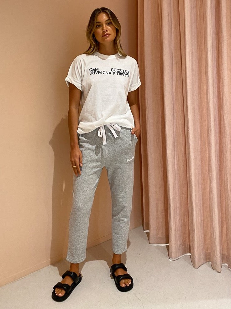 Camilla and Marc Logan 2.0 Track Pant in Grey Marle