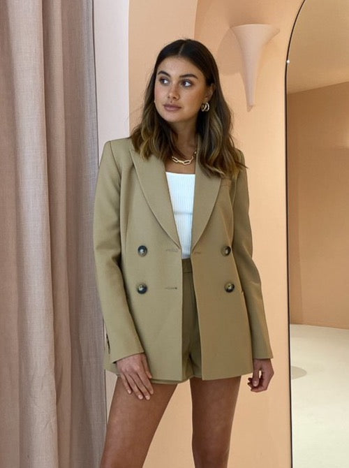 Camilla and Marc Bailey Blazer in Sage
