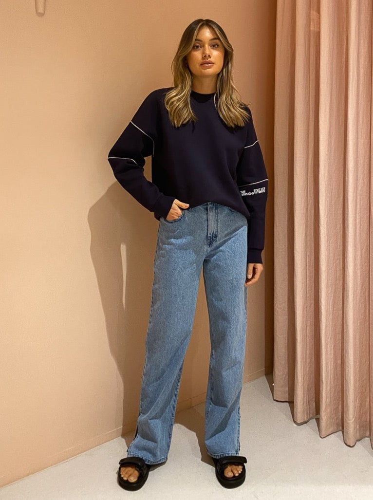 Camilla And Marc Sylvie Crew 2.0 In French Navy