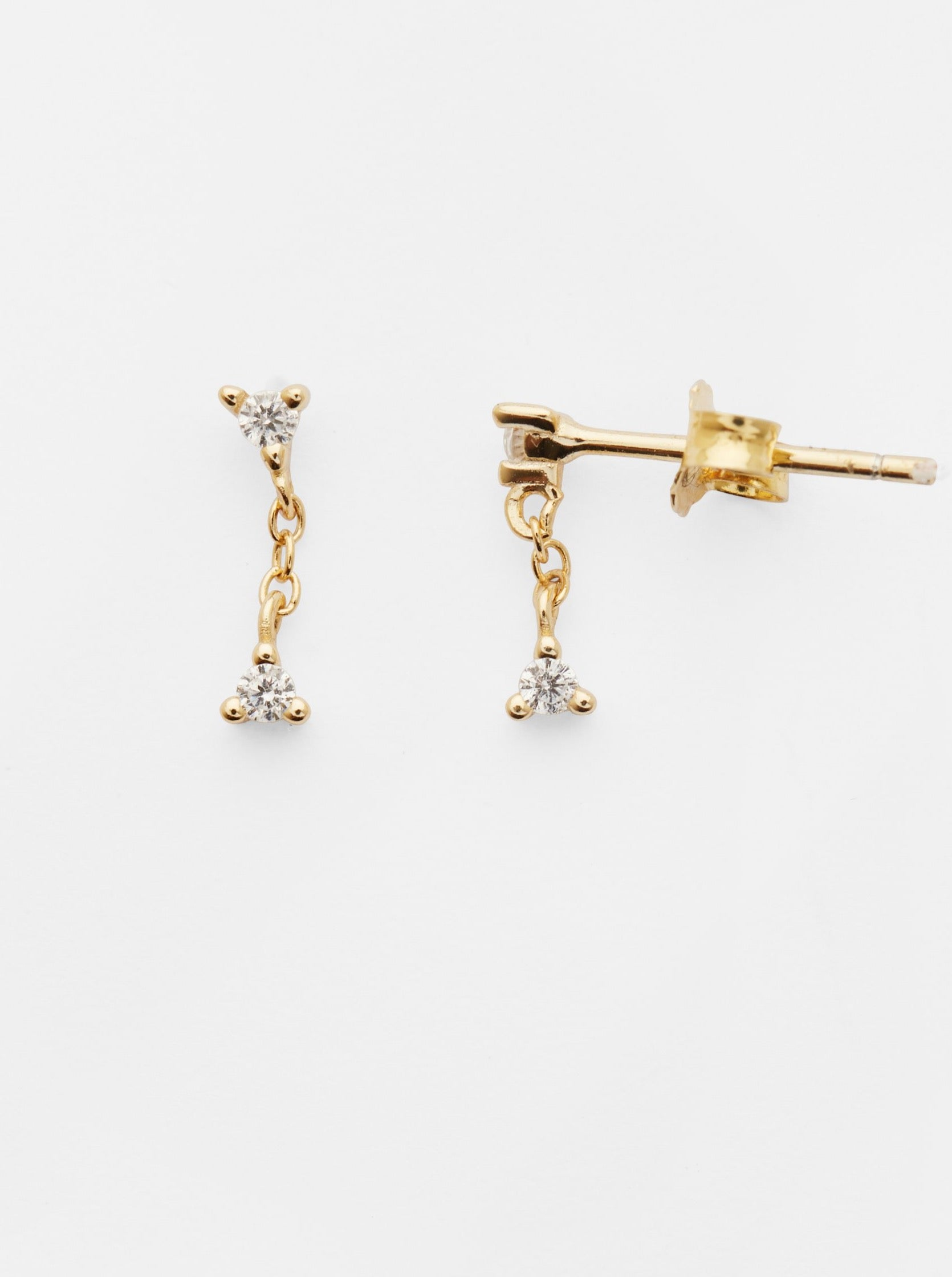 Reliquia Connected Earrings in 18CT Gold Filled